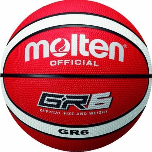 送料無料 molten(モルテン) バスケットボール ゴム6号 BGR6-RW