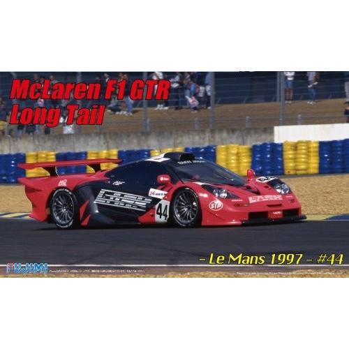 送料無料 フジミ模型 1/24 リアルスポーツカーシリーズNo.91 マクラーレンF1 GTR ロングテール ル・マン 1997 #44