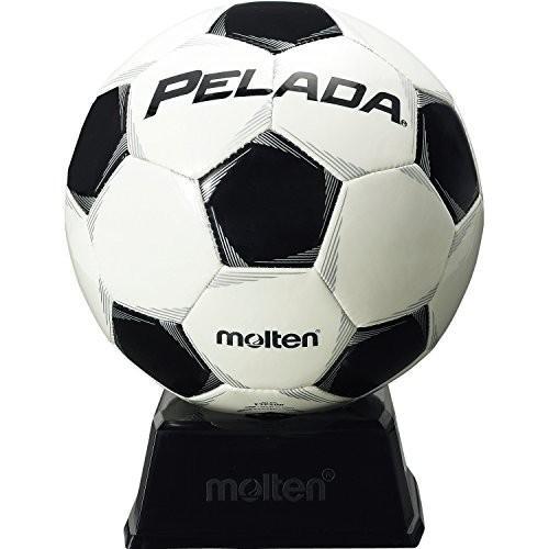 送料無料 molten(モルテン) サッカーボール ペレーダ サインボール (置台付き) F2P500