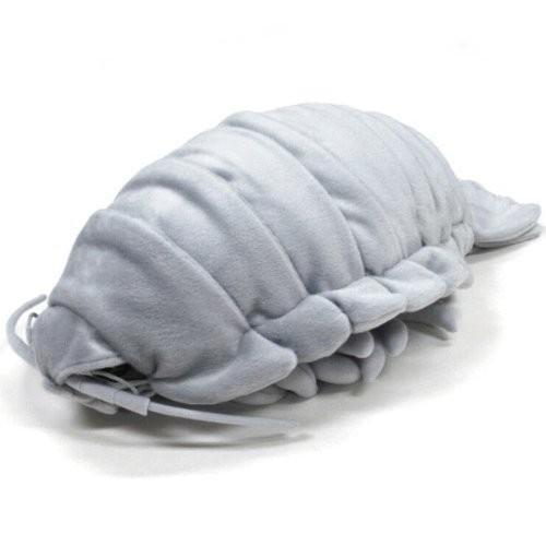 送料無料 深海生物シリーズダイオウグソクムシ ぬいぐるみ特大 グレー 7317