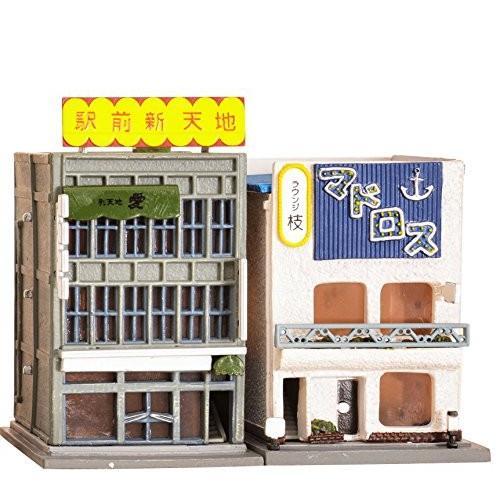 送料無料 トミーテック ジオコレ 建物コレクション 088-2 雑居ビル・ラウンジ2 ジオラマ用品