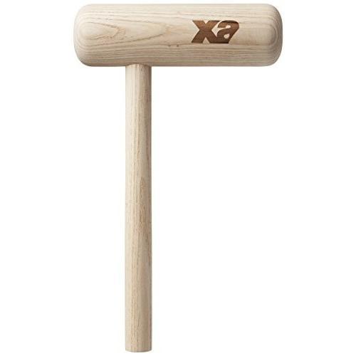 送料無料 XANAX(ザナックス) 野球 グラブハンマー トンカチ型 木製 20×34CM BGF-21 グラブアクセサリー
