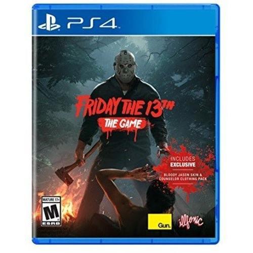 送料無料 Friday The 13th The Game (輸入版:北米) - PS4