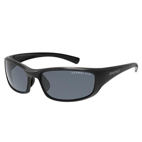 送料無料 SWANS(スワンズ) スポーツ 偏光 サングラス ウォーリアー7 WA7-0167 BK ブラック フィッシング