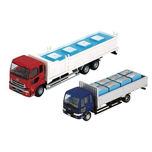 送料無料 ザ・トラックコレクション トラコレ 魚運搬トラック セットB ジオラマ用品 (メーカー初回受注限定生産)