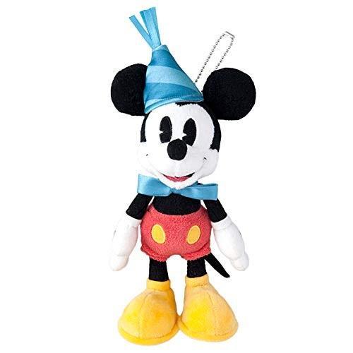 送料無料 ミッキー マウス スクリーンデビュー 90周年 グッズ ( ぬいぐるみバッジ ) ぬいば チェーンバッジ 誕生日 ディズニー リゾート限定