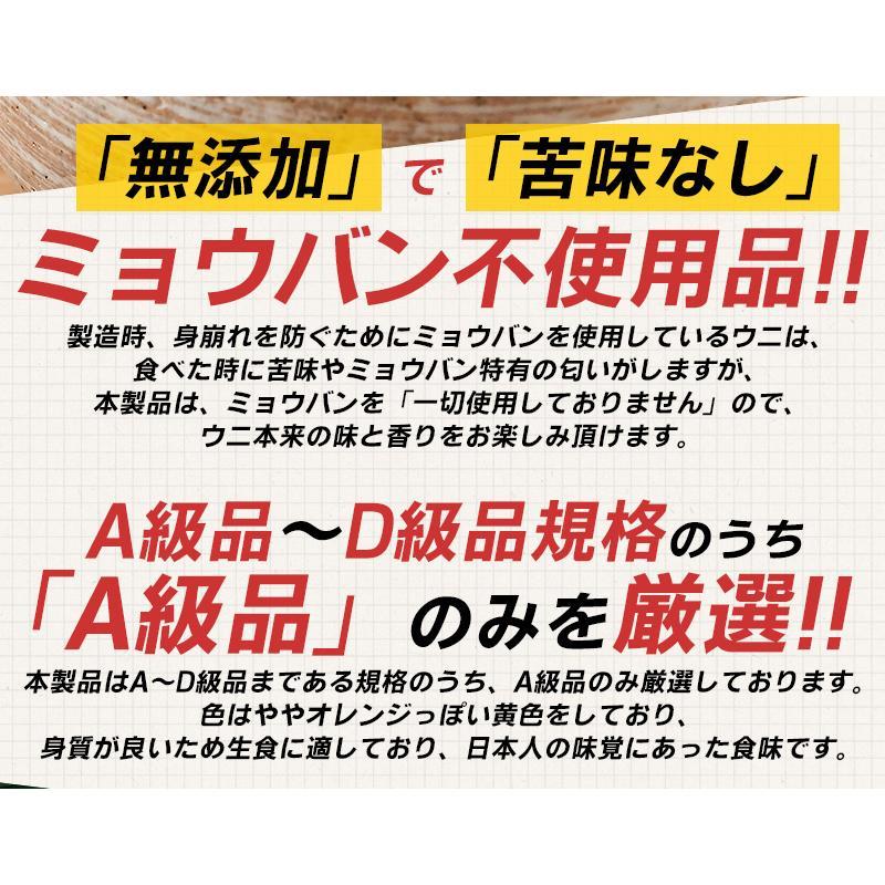 うに ウニ 無添加 A級品 200g(100g×2個) o-select-fukui 03