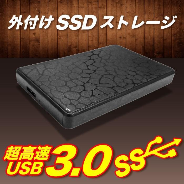 あすつく 新品 OAPLAZA プライベートブランド 2.5インチ 外付け ハードディスク SSD 256GB USB3.0 パソコン専用 ブラック|oa-plaza