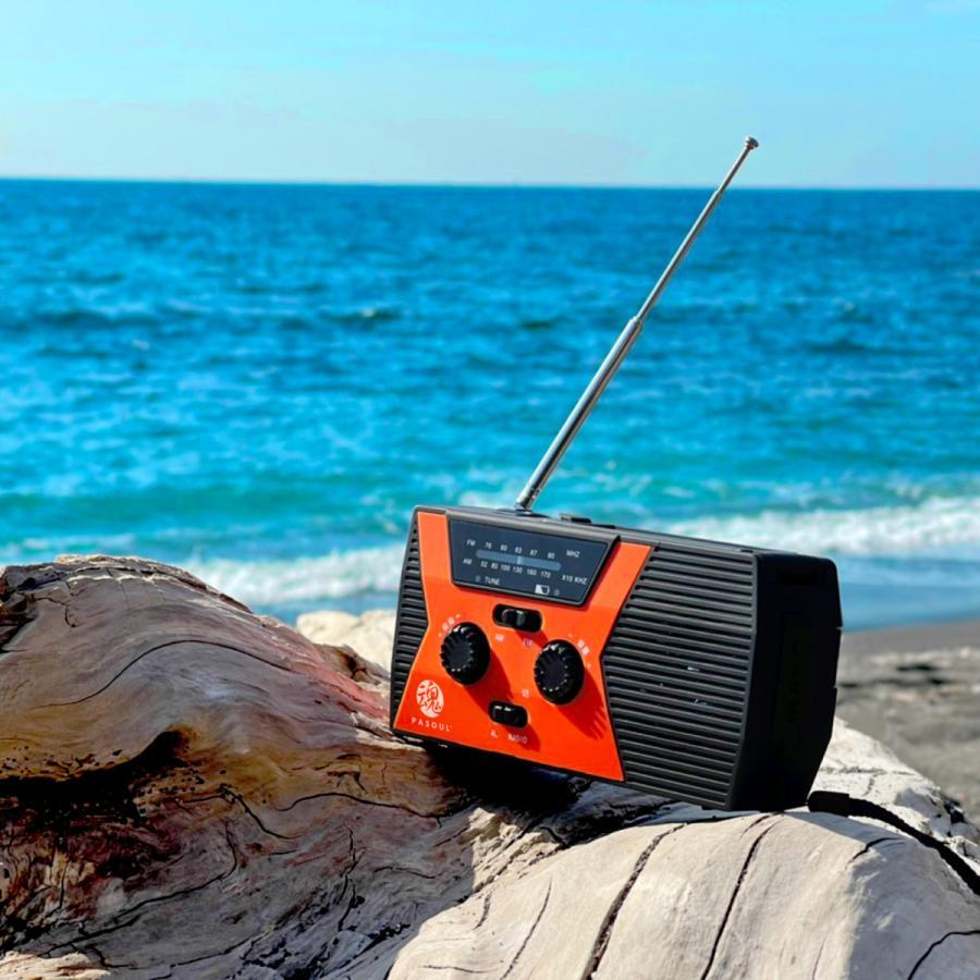 防災グッズ 防災ラジオ ソーラーラジオ ラジオライト LED懐中電灯 AM/FM SOSアラート USB充電 ソーラー充電 手回し充電 スマホ充電 2000mAH IPX3防水性|oa-plaza|12