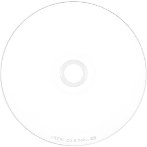 TDK データ用CD-R 700MB 48倍速対応 ホワイトワイドプリンタブル 50枚スピンドル CD-R80PWDX50PE oakonlinestore2 02