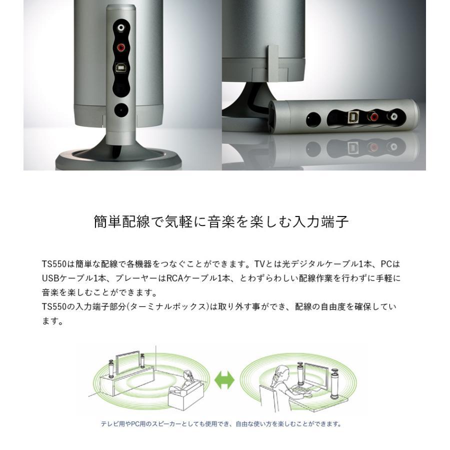 OUTLET 公式サイト限定 スピーカー 無指向性 ナチュラルサウンドスピーカー TS550 アンプ搭載型 Egretta エグレッタ テレビ ホームシアター|oasaelec|14