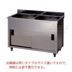 二槽キャビネットシンク AP2-1500K 東製作所(azuma) 【個人宅都度見積り】