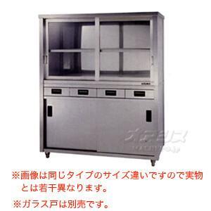 食器戸棚 両面引出し付両面引違戸 ACSWO-1800Y 東製作所(azuma) 【個人宅都度見積り】