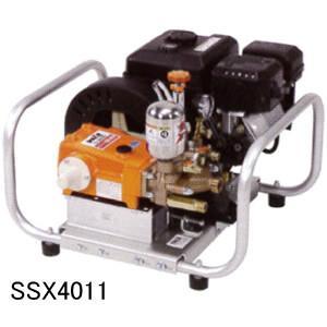 エンジンセット動噴 SSX4011 カーツ(KAAZ) Max4.9MPa 吸水28L/分【地域別運賃】