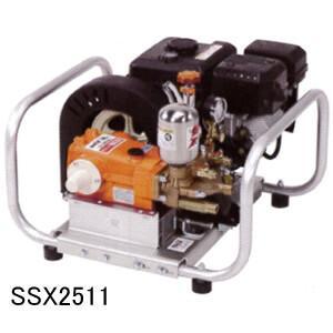 エンジンセット動噴 SSX2511 カーツ(KAAZ) Max4.9MPa 吸水20L/分【地域別運賃】