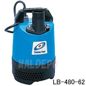 一般工事排水用 非自動形水中ハイスピンポンプ LB-480 単相100V 60Hz 0.48kW 口径50mm ツルミポンプ(鶴見製作所)