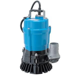 一般工事排水用 非自動形水中ハイスピンポンプ HS2.4 三相200V 60Hz 0.4kW 口径50mm ツルミポンプ(鶴見製作所)