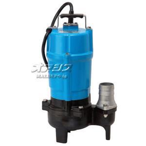 一般工事排水用 通過径重視タイプ水中ハイスピンポンプ HSU2.55S 単相100V 60Hz 0.55kW 口径50mm ツルミポンプ(鶴見製作所)