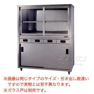 食器戸棚 片面引出し付片面引違戸 ACSO-1200K 東製作所(azuma) 【個人宅都度見積り】