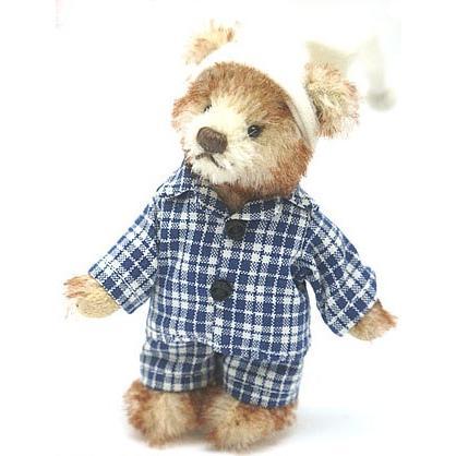 中古 良品 HERMANNハーマン テディベア トミー 11cm クマ 人形