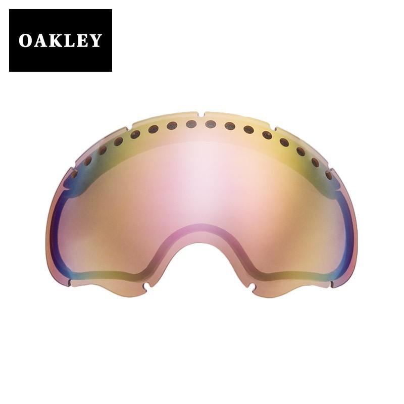 オークリー エーフレーム1.0 ゴーグル 交換レンズ 01-035 OAKLEY A FRAME1.0 スノーゴーグル VR50 ピンク IRIDIUM