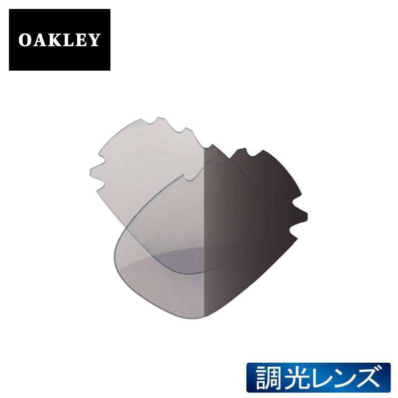 オークリー レーシングジャケット サングラス 交換レンズ 調光 41-785 OAKLEY RACING JACKET スポーツサングラス CLEAR 黒 IRIDIUM PHOTOCHROMIC