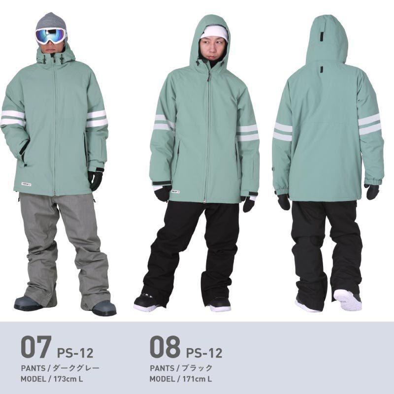 スノーボードウェア スキーウェア スノボウェア スノーウェア メンズ レディース ジャケット パンツ 上下セット ウェア 激安 PSD  2021|oc-sports|10