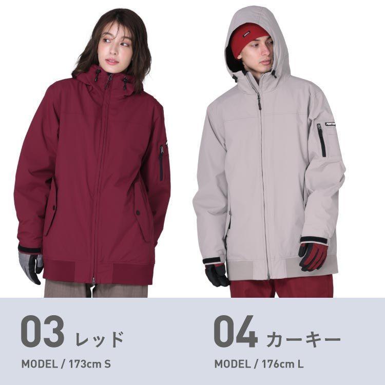 極寒対策 ダウン入り スノーボード ウェア ジャケット 単品 メンズ レディース スノーウェア スノボ  POJ-380DW|oc-sports|08