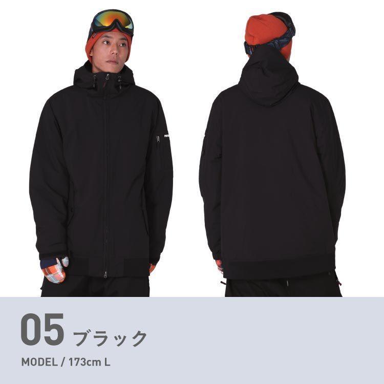 極寒対策 ダウン入り スノーボード ウェア ジャケット 単品 メンズ レディース スノーウェア スノボ  POJ-380DW|oc-sports|09