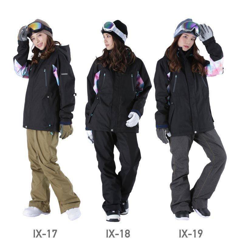 限定価格 スノーボード ウェア レディース スノーウェア スキーウェア スノボ 上下セット ジャケット パンツ IX-SET|oc-sports|14
