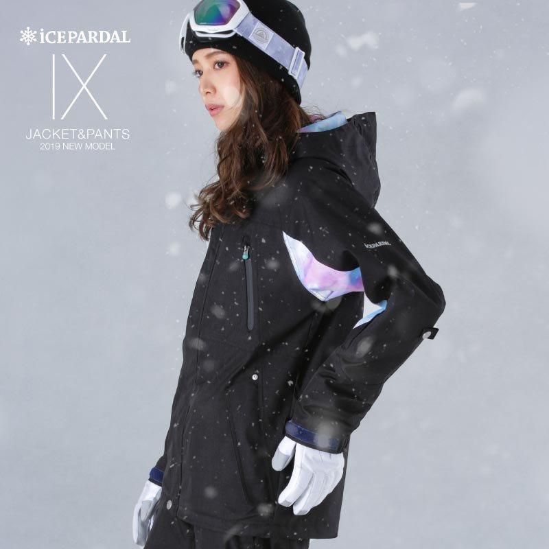 限定価格 スノーボード ウェア レディース スノーウェア スキーウェア スノボ 上下セット ジャケット パンツ IX-SET|oc-sports|06