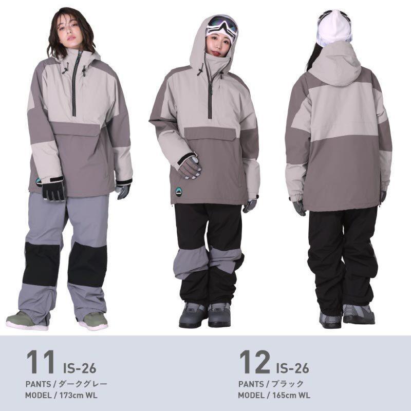 スノーボードウェア スキーウェア スノボウェア スノーウェア レディース ジャケット パンツ 上下セット ウェア 激安 ISB  2021 oc-sports 12