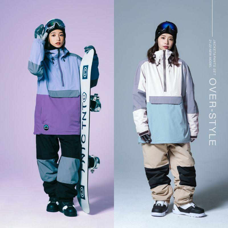 スノーボードウェア スキーウェア スノボウェア スノーウェア レディース ジャケット パンツ 上下セット ウェア 激安 ISB  2021 oc-sports 04