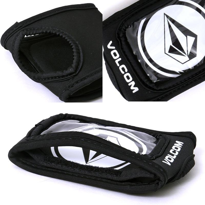 VOLCOM パスケース メンズ レディース スノーボード カフゲーター グローブ装着型 小物入れ 小銭入れ リフト券入れ J67519JI|oc-sports|05