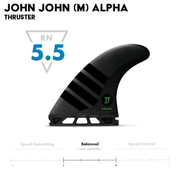 futures.(フューチャーズ)ALPHA series John John Florence(M)(アルファーシリーズ ジョンジョンフローレンスモデルMサイズ