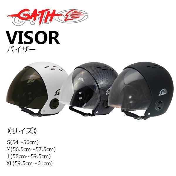 ガスヘルメット(GATH HELMET)バイザー VISOR