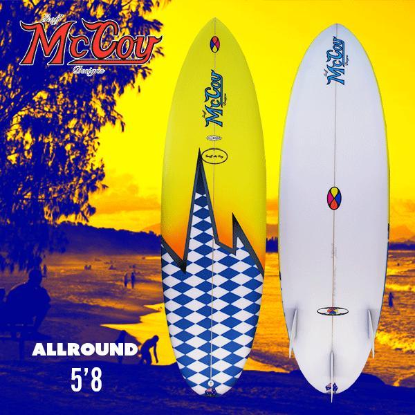 日本に ジェフマッコイ (Geoff McCoy) McCoy) オールラウンドALLROUND5'8モデル, U&JMac's:be7cf5e8 --- airmodconsu.dominiotemporario.com