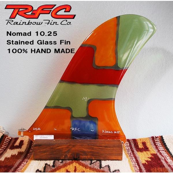 安い割引 RFC Stained Stained RFC Glass Glass Nomad10.25(レインボーフィンカンパニーステンドグラス製ノマド10.25)ロングボード用フィン, 野付郡:c7355df7 --- airmodconsu.dominiotemporario.com