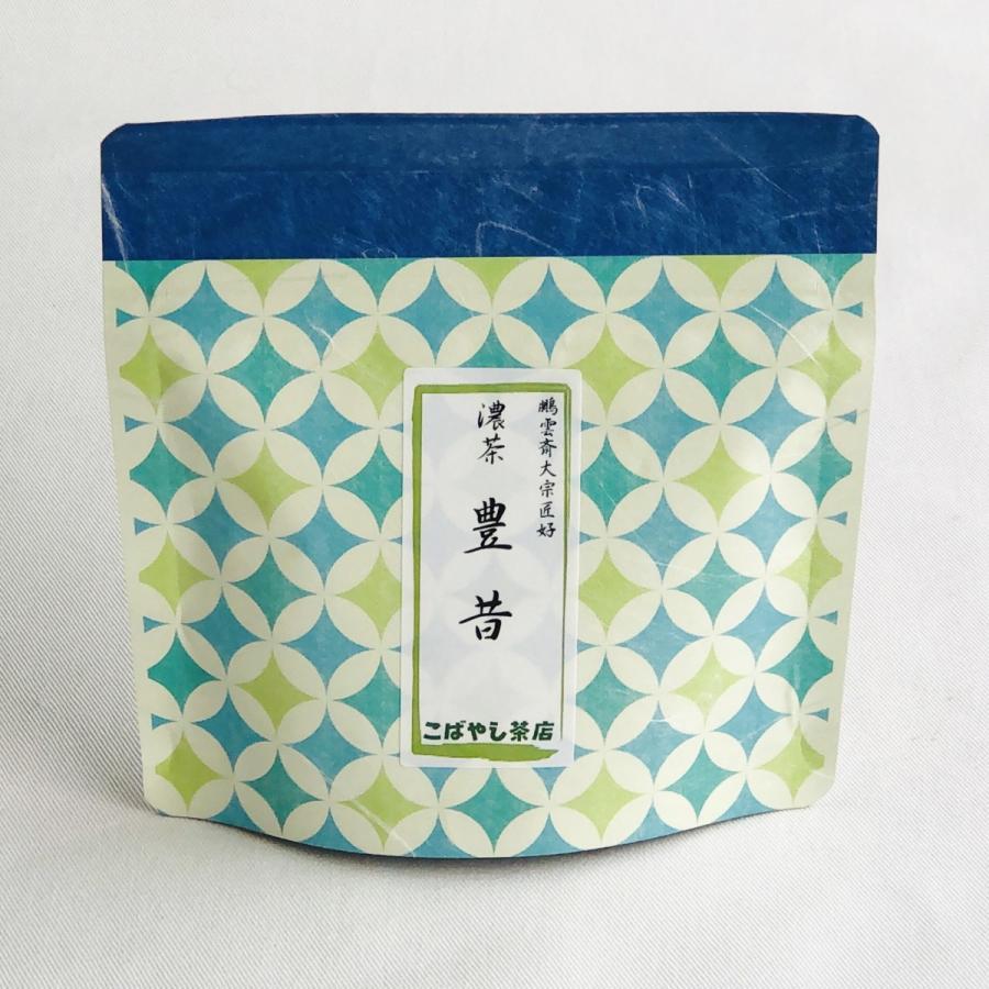 宇治抹茶<濃茶>豊昔 40g ocha-kobayashi-shop