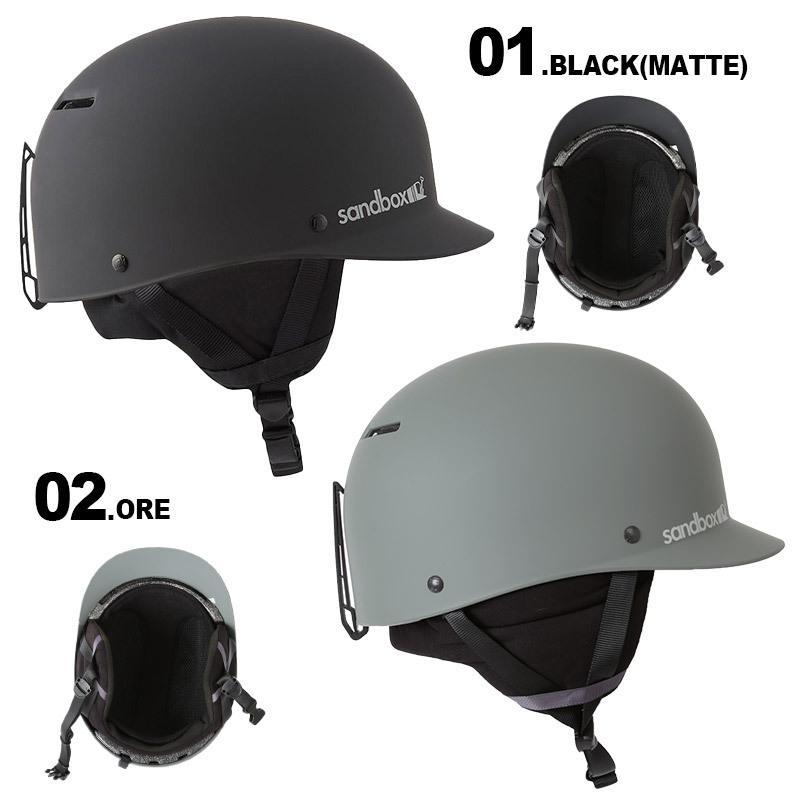 SANDBOX/サンドボックス メンズ&レディース ウインタースポーツ用 ヘルメット CLASSIC 2.0 SNOW ジャパンフィット CLASSIC 2.0 SNOW