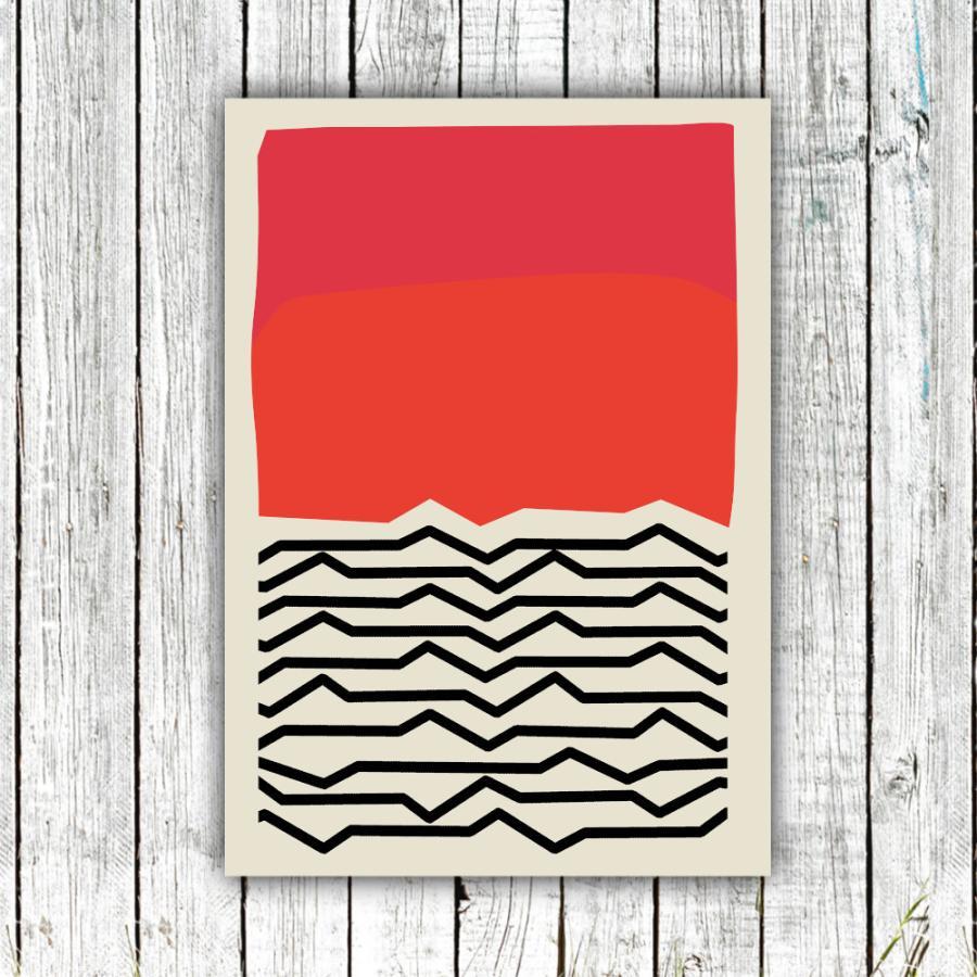 アートポスター/Aroma of Paris/選べる7サイズ&ポスター単品orフレームセット/Design:#662 octopus-goods01