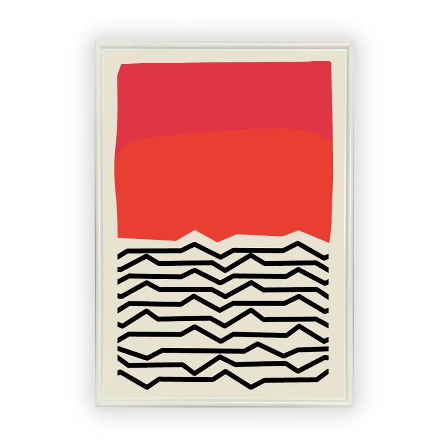 アートポスター/Aroma of Paris/選べる7サイズ&ポスター単品orフレームセット/Design:#662 octopus-goods01 11
