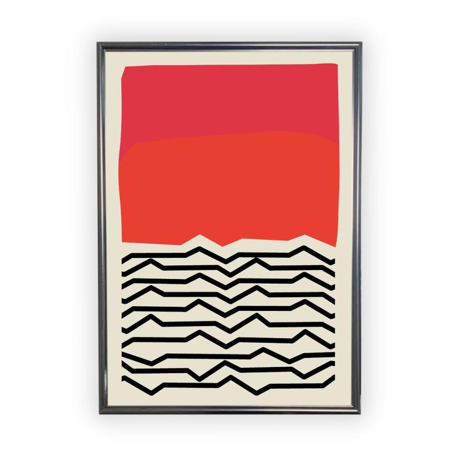 アートポスター/Aroma of Paris/選べる7サイズ&ポスター単品orフレームセット/Design:#662 octopus-goods01 08