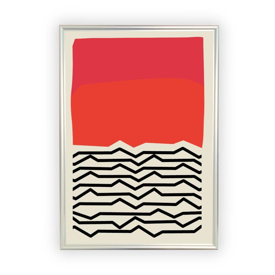 アートポスター/Aroma of Paris/選べる7サイズ&ポスター単品orフレームセット/Design:#662 octopus-goods01 10