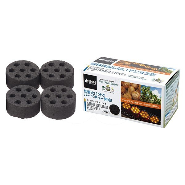 OUTDOOR LOGOS ロゴス エコココロゴス・ミニラウンドストーブ 83100104 アウトドア木炭 一般 アウトドア 釣り 旅行用品 アウトドアギア|od-yamakei