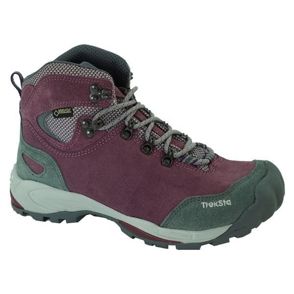 TrekSta トレクスタ NESTカラコルムGTX/パープル800/230 EBK512 パープル 登山靴 トレッキングシューズ アウトドア 釣り 旅行用品 トレッキング用