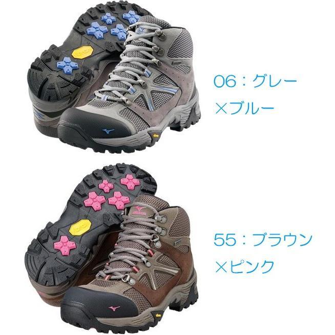 mizuno ミズノ WAVE NAVIGATION/06 グレーXブルー /23.5 19KM151 登山靴 トレッキングシューズ アウトドア 釣り 旅行用品 トレッキング用 アウトドアギア