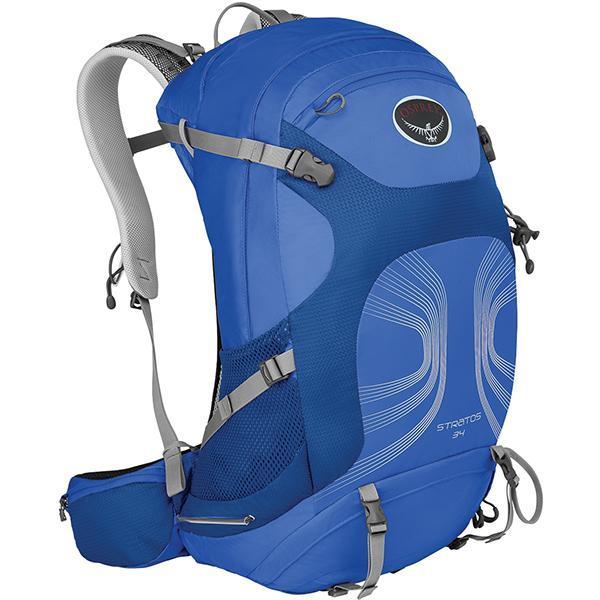 OSPREY オスプレー ストラトス 34/ハーバーブルー/M/L OS50320 ブルー バックパック ザック アウトドア 釣り 旅行用品 デイパック デイパック