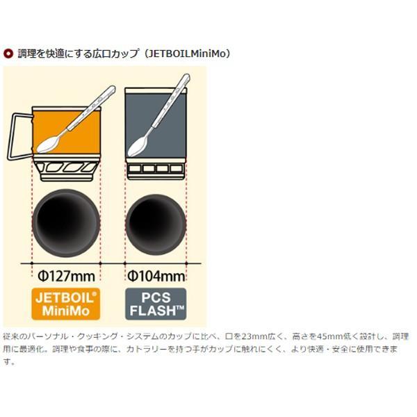 JETBOIL ジェットボイル ミニモ/CB-LG 1824381 ブラック シングルバーナーコンロ アウトドア 釣り 旅行用品 キャンプ シングルバーナーストーブ|od-yamakei|05