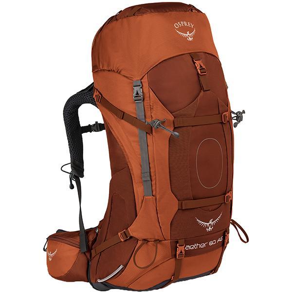 OSPREY オスプレー イーサーAG 60/アウトバックオレンジ/M OS50062002005 オレンジ バックパック ザック アウトドア 釣り 旅行用品 トレッキングパック